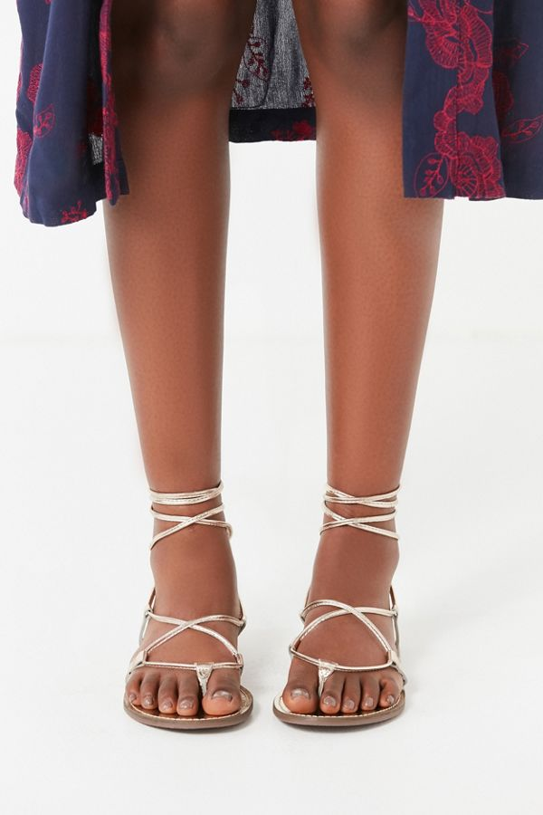Well known Leather Lace-Up Gladiator Sandal | Urban Outfitters XX32