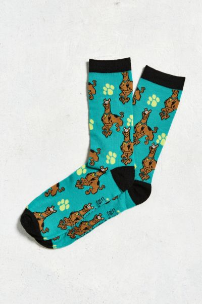 Scooby Doo Sock - Teal One Size at Urban Outfitters