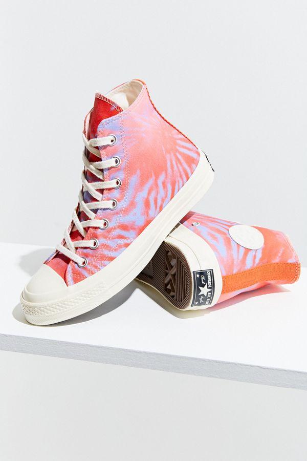26ee85a15c9b Converse Chuck 70 Tie Dye High Top Sneaker Urban Outers. Pastel Rainbow ...