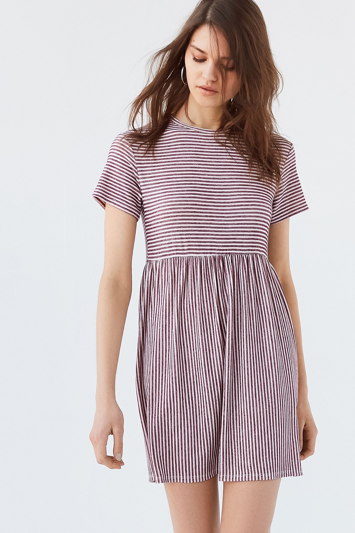 Uo Babydoll T Shirt Dress Urban Outfitters