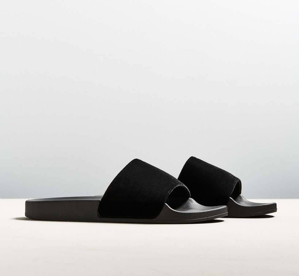 Slide View: 2: UO Velvet Slide Sandal