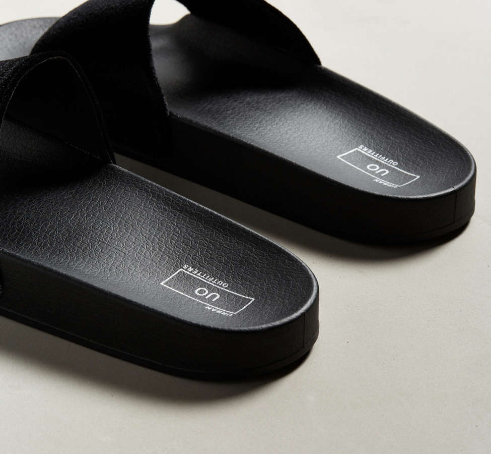 Slide View: 4: UO Velvet Slide Sandal