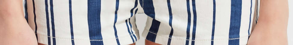 Thumbnail View 4: BDG Pinup High-Rise Denim Short –Striped
