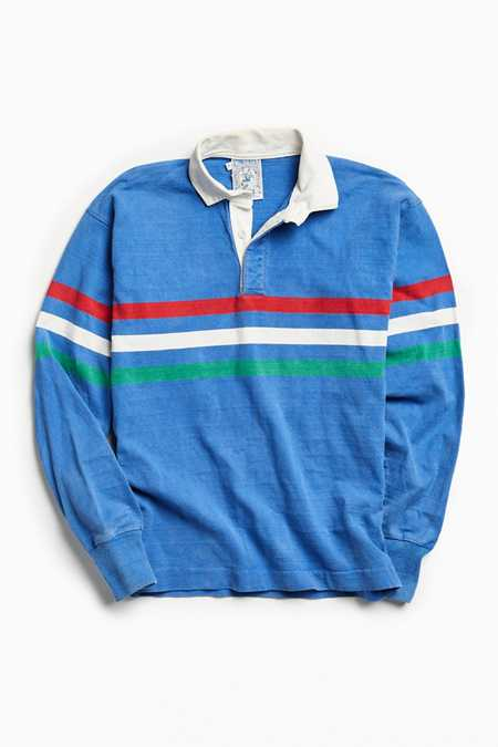 Vintage Lands' End Stripe Rugby Shirt