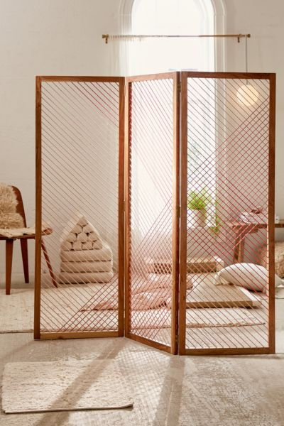 Astra Room Divider Screen Urban Outfitters