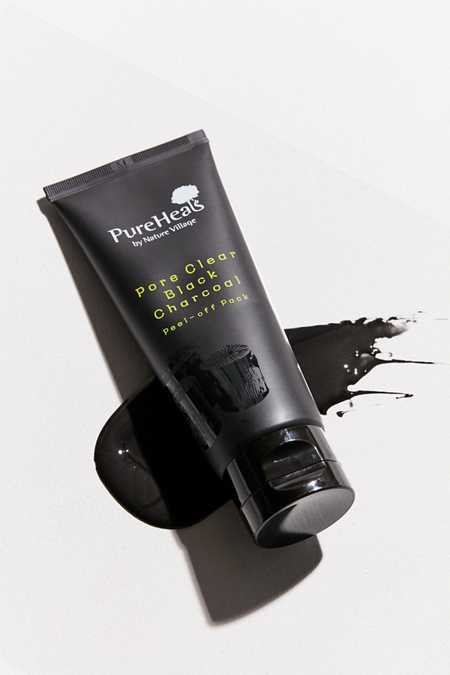 PureHeals Pore Clear Black Charcoal Peel-Off Mask Pack