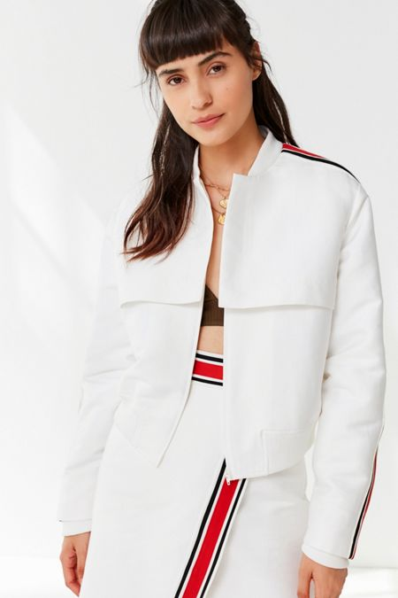 C/meo Collective Totality Striped Jacket