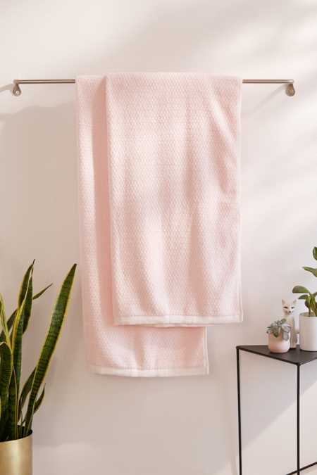 Everplush Diamond Jacquard Oversized Bath Towel Set