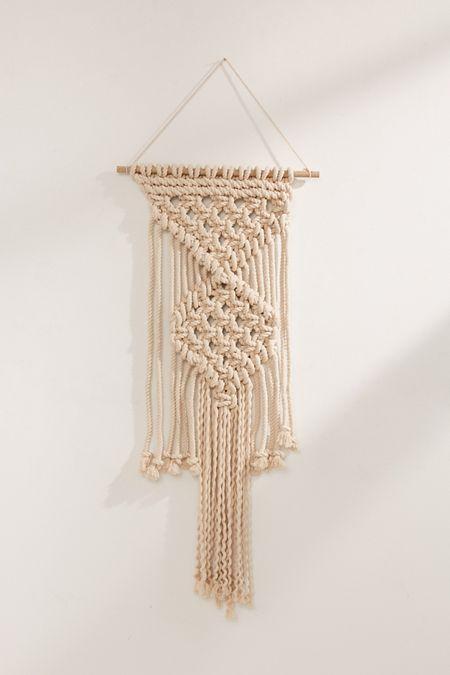 Macram Rope Wall Hanging