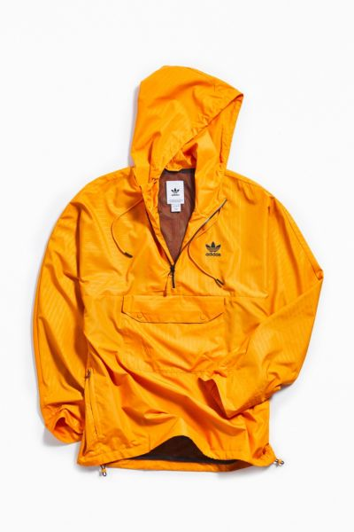Adidas Pinstripe Half Zip Windbreaker Jacket by Adidas