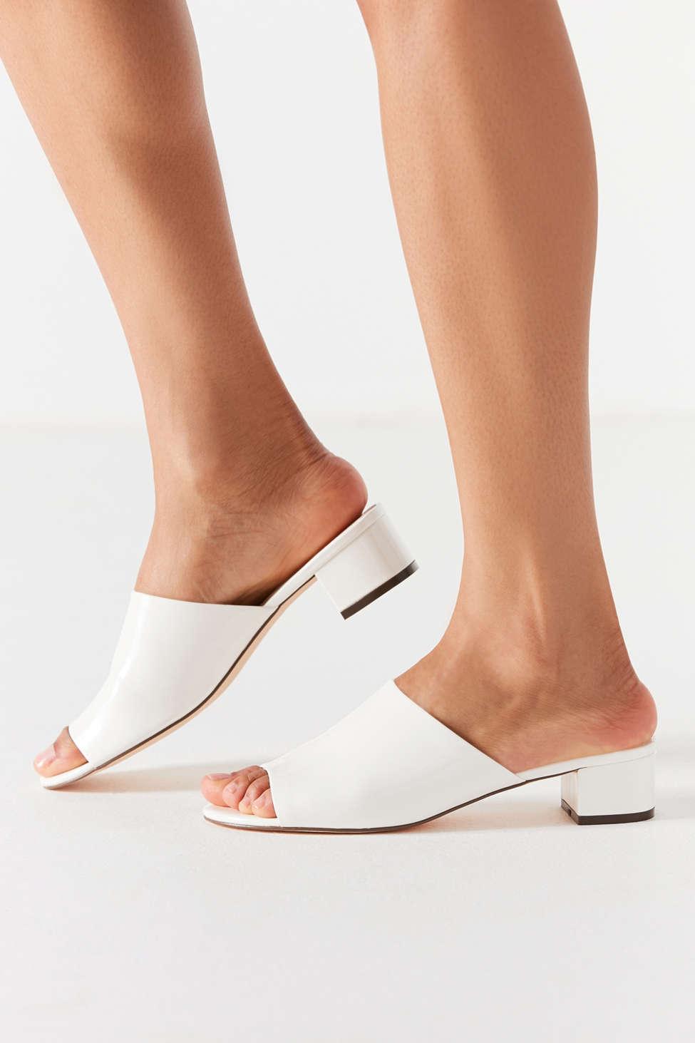 Patti Patent Mule Heel