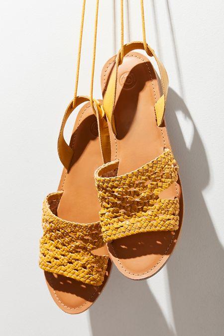 Luna Crochet Slingback Sandal
