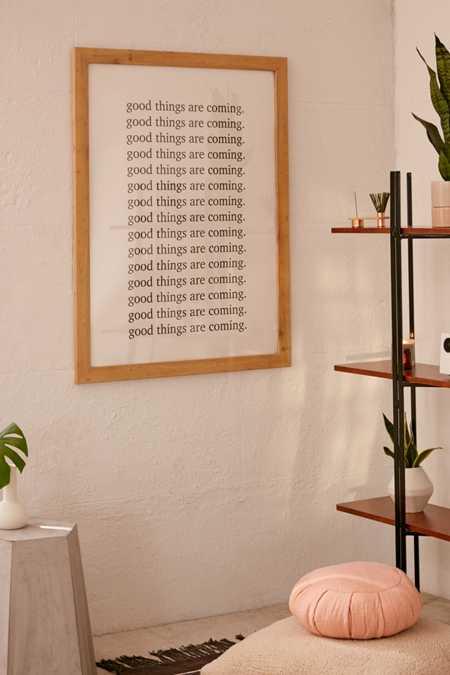 Honeymoon hotel good things are coming art print · quick shop