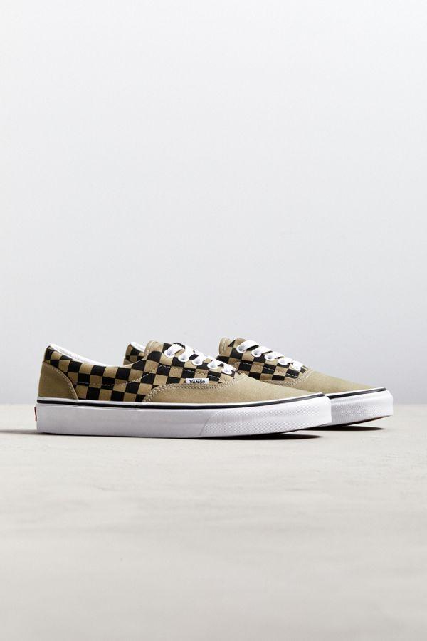 Vans Era Checkerboard Auburn Sneaker  82fd9834e