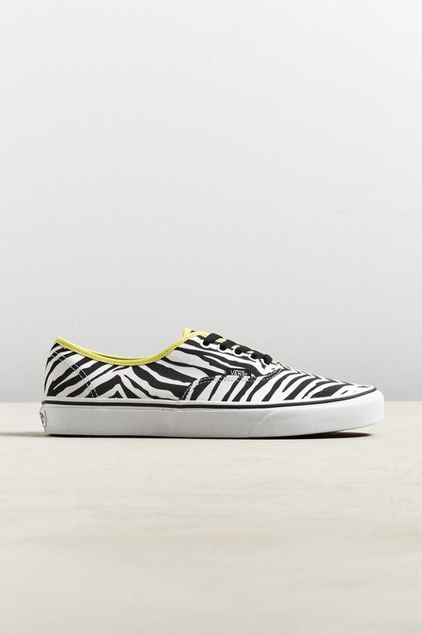vans authentic zebra