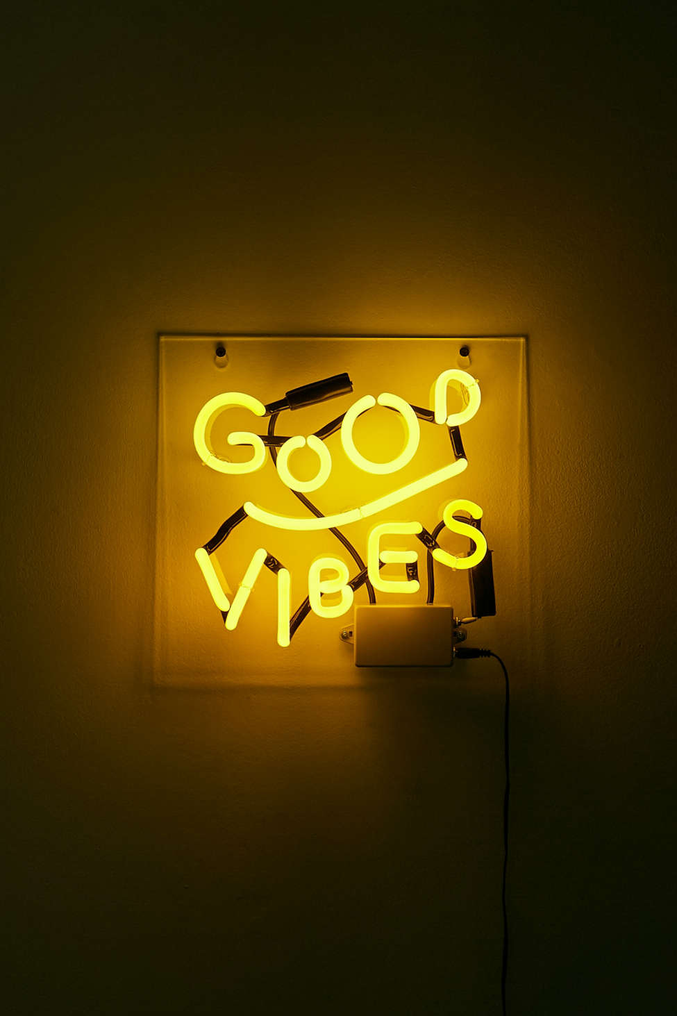 Good Vibes Neon Light Urban Outfitters