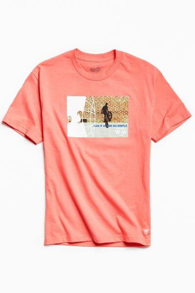 Wu Wear Photo Tee - Pink S at Urban Outfitters