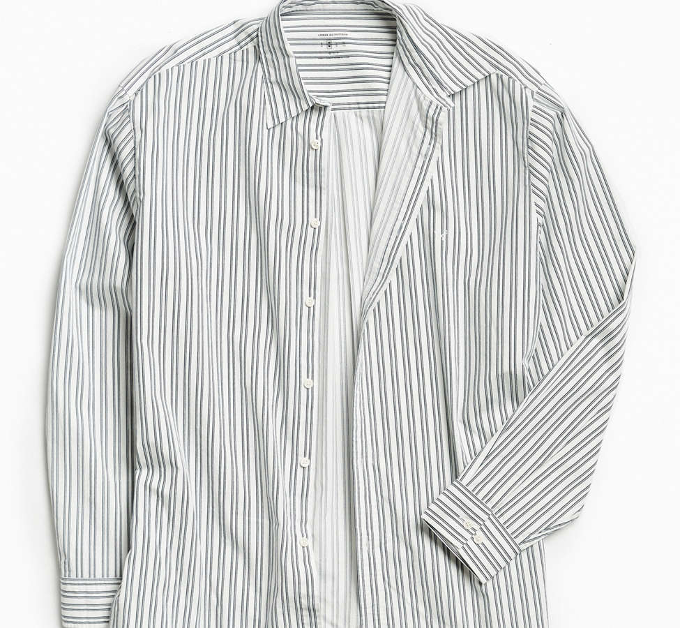 Slide View: 2: Palu Textured Stripe Button-Down Shirt