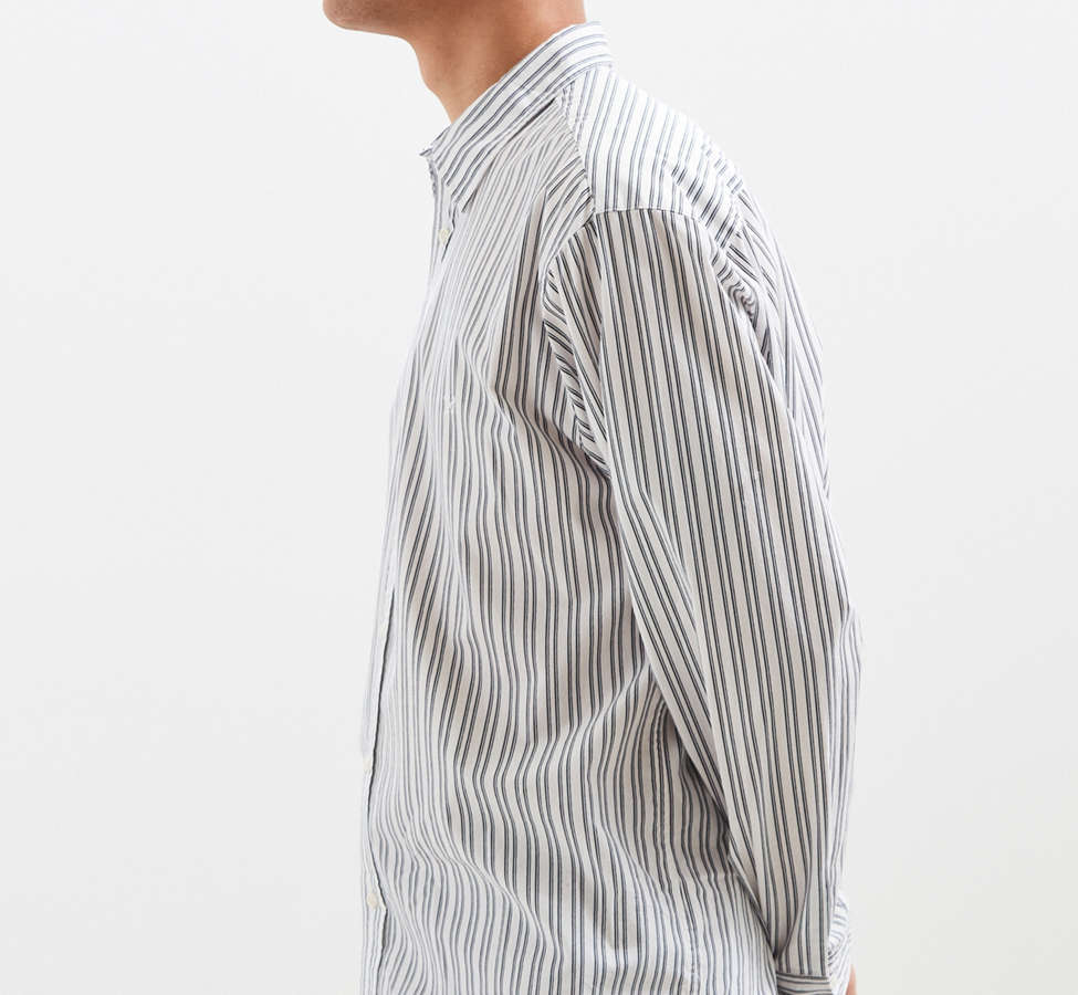 Slide View: 3: Palu Textured Stripe Button-Down Shirt