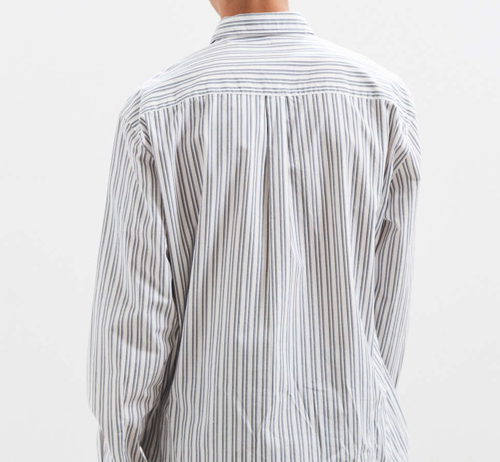 Slide View: 5: Palu Textured Stripe Button-Down Shirt