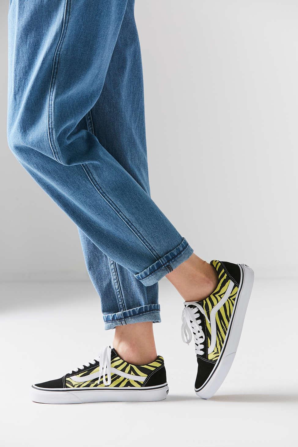 Vans Old Skool Zebra Sneaker