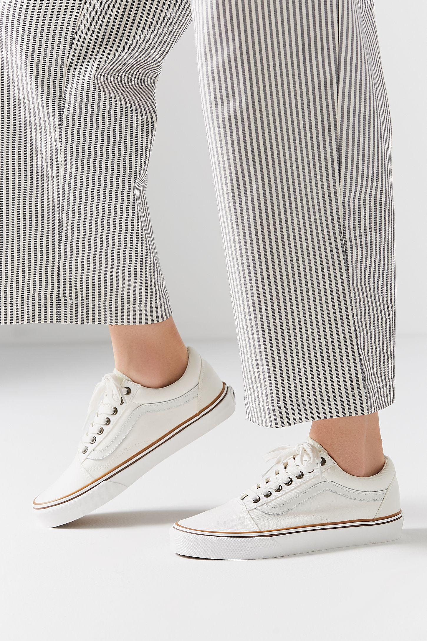 vans old skool sneaker beige