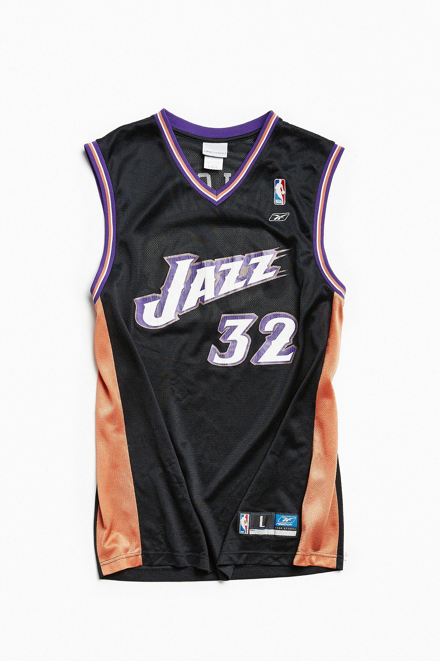 6ec27b22c9f ... promo code for vintage reebok karl malone utah jazz basketball jersey  urban 1f200 88474