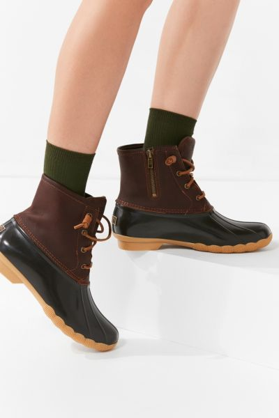 Sperry Saltwater Duck Boot - Brown 6 at Urban Outfitters