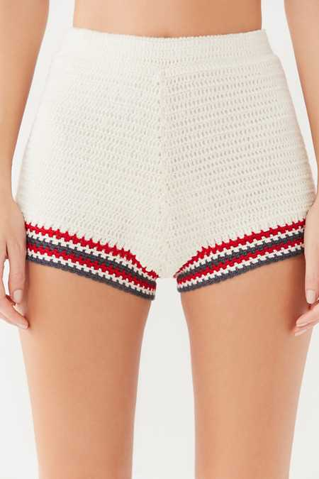 Slide View: 2: Out From Under Poppy Crochet Short