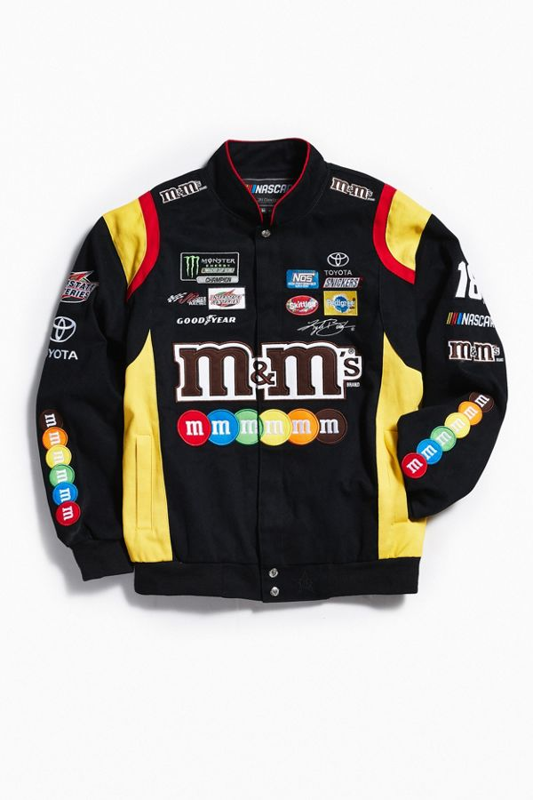 Jh Design M Amp Ms Nascar Jacket Urban Outfitters