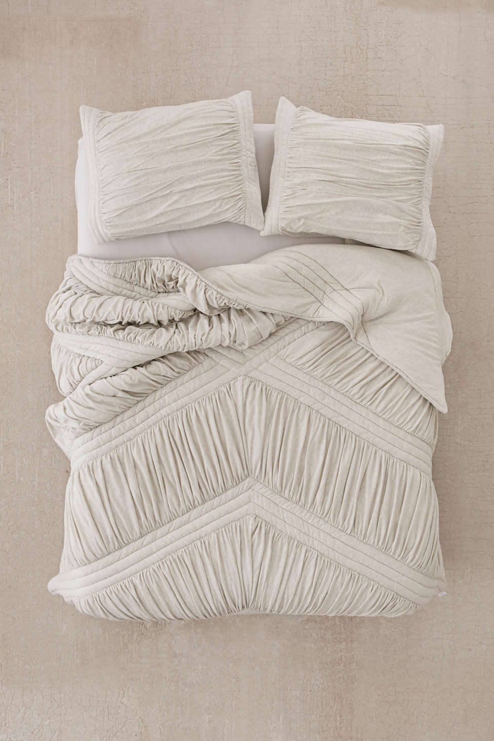 Slide View: 2: Quilted Jersey Comforter