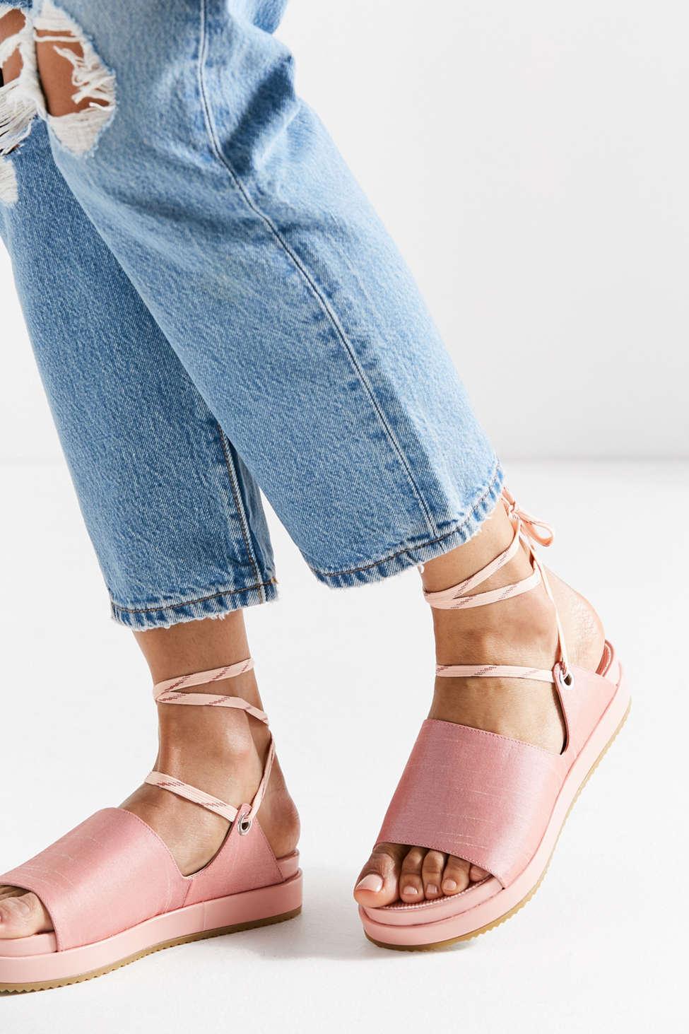 Carson Lace-Up Grommet Sandal