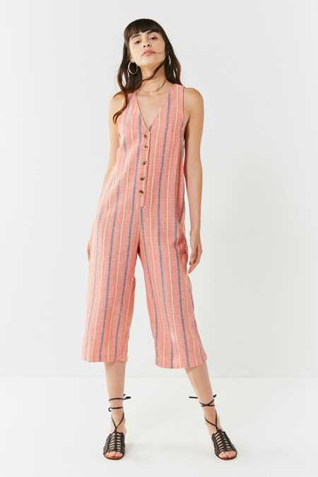 UO Jordan Button-Down Jumpsuit