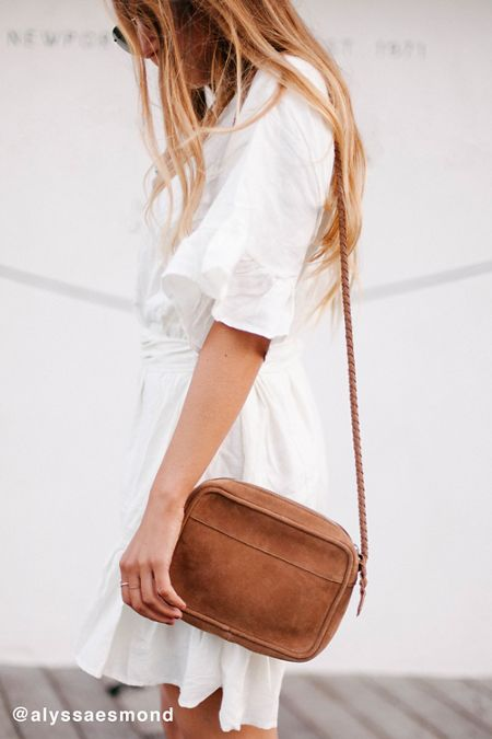 June Suede Crossbody Bag