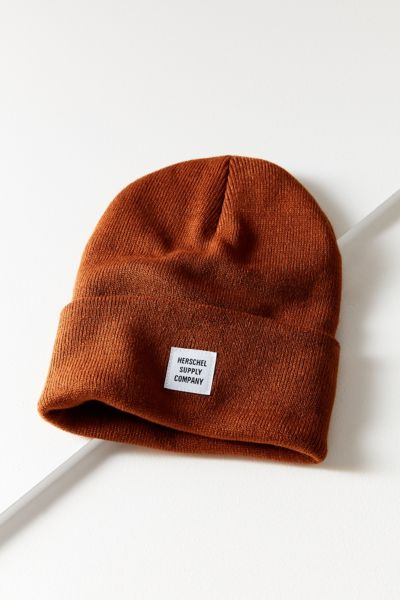 Herschel Supply Co. Abbott Knit Beanie - Brown One Size at Urban Outfitters
