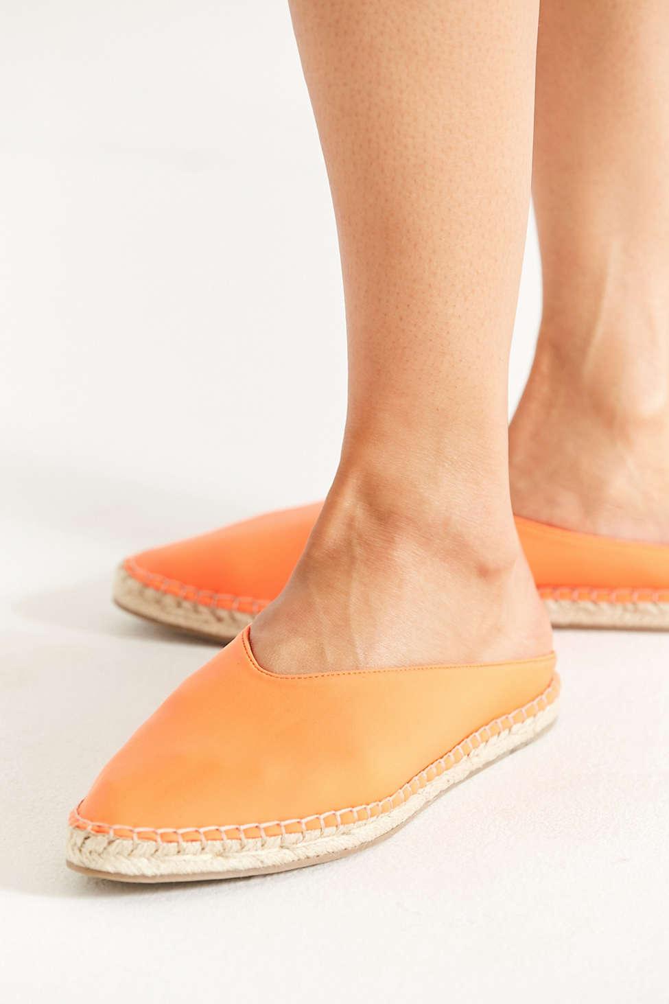 UO Neoprene Espadrille Slip-On Flat