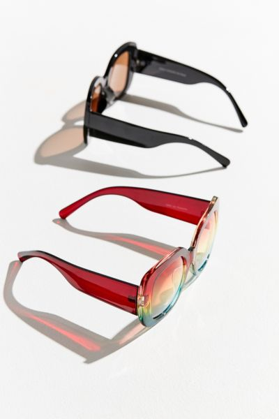 Cher Oversized Square Sunglasses by Urban Outfitters