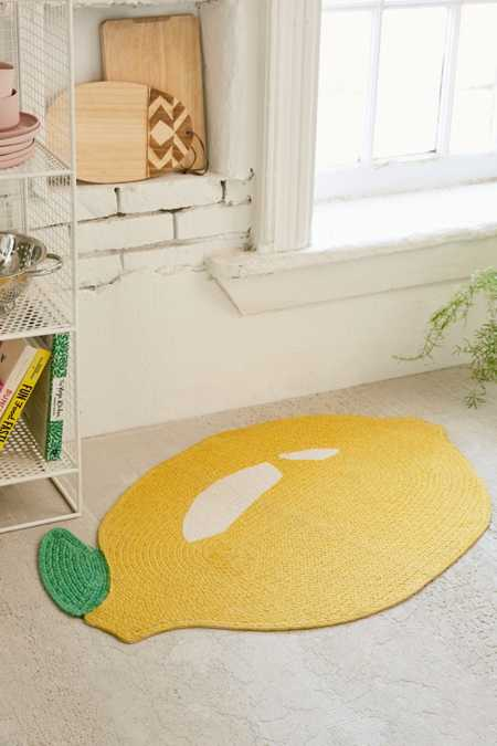 Printed Lemon Rug