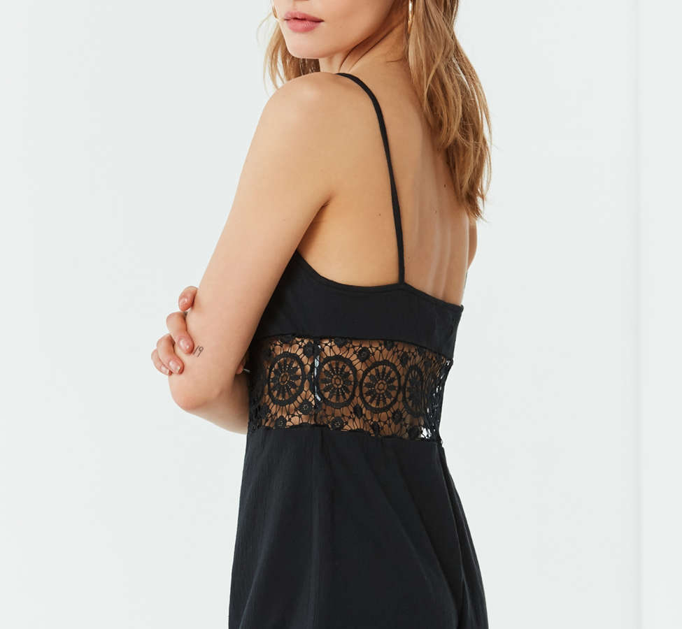 Slide View: 2: Out From Under Bethany Crochet Romper