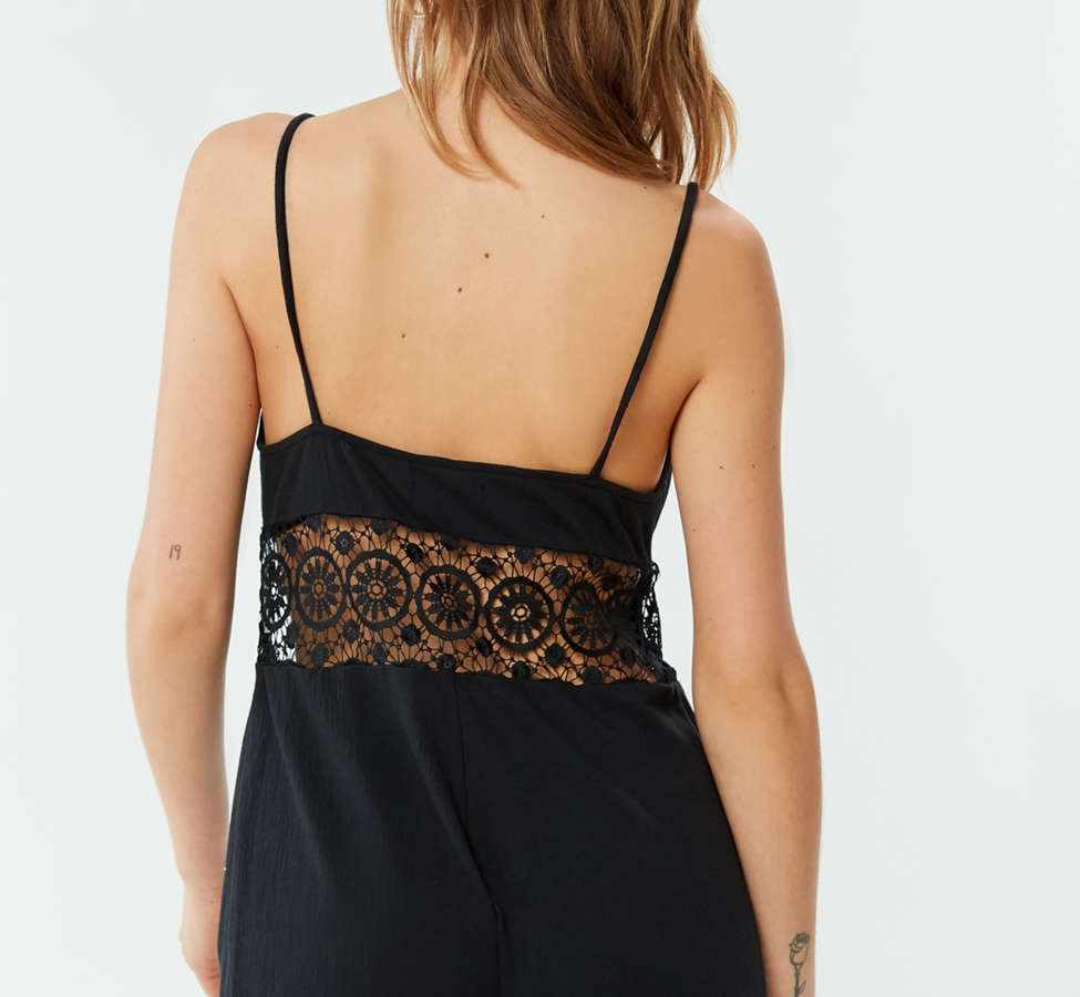 Slide View: 4: Out From Under Bethany Crochet Romper