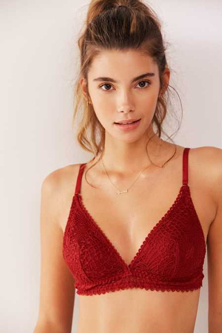 Out From Under Lexie Crochet Triangle Bralette