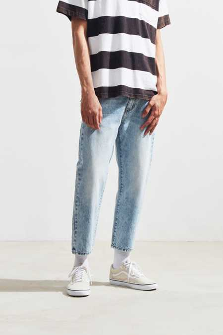 Dr. Denim Otis Light Blue Cropped Relaxed Jean
