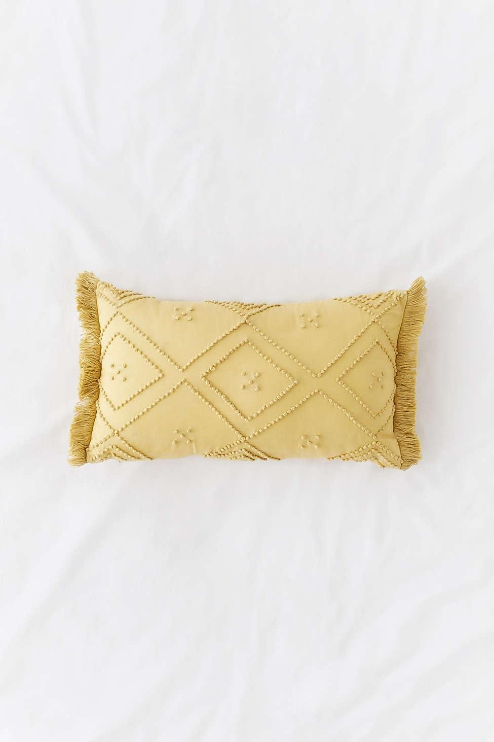 Slide View: 1: Havana Textured Bolster Pillow