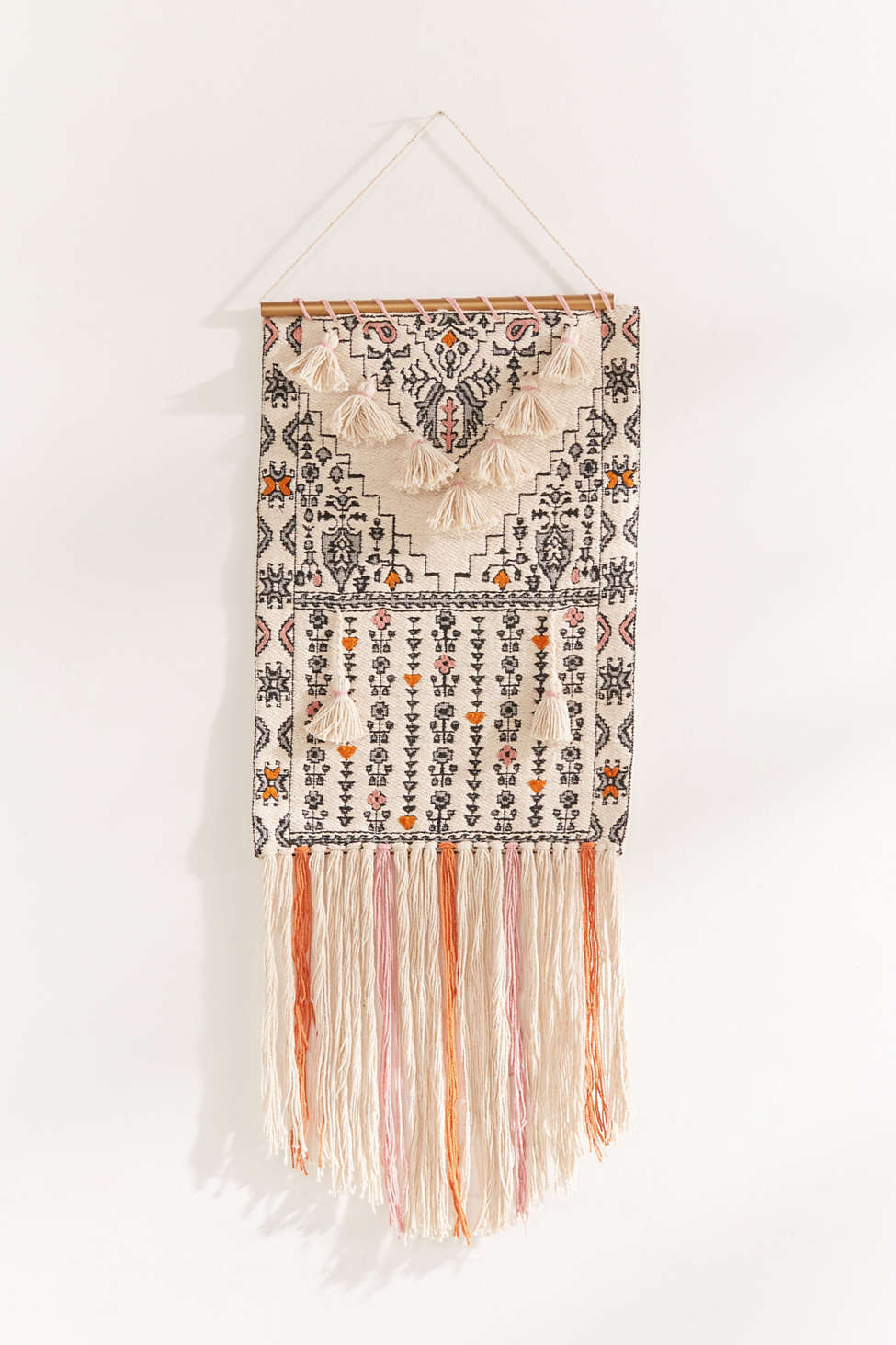 Slide View: 1: Mini Tassel Wall Hanging