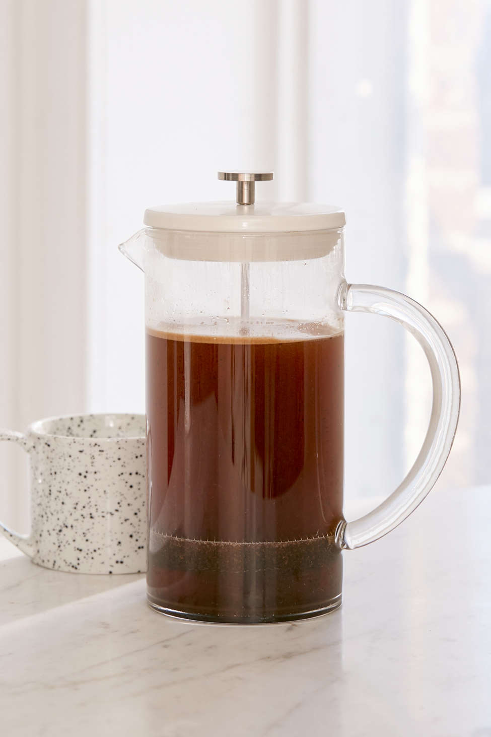 Slide View: 1: 3-in-1 Pour Over Cold Brew Coffee Press Set