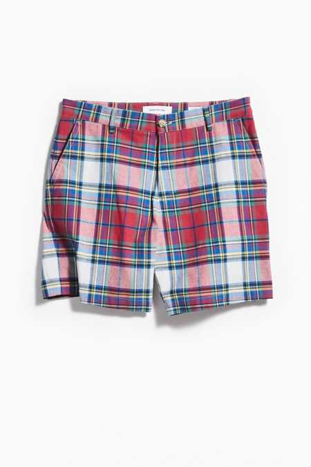 UO Patterned Prep Chino Short