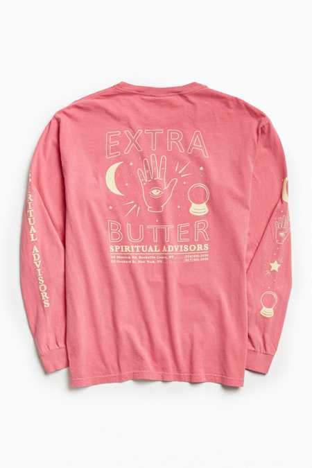 Reebok X Extra Butter For UO Spiritual Advisors Long Sleeve Tee