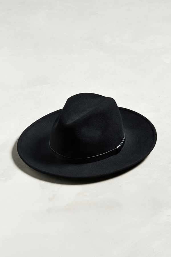 Slide View: 1: Wide Brim Fedora