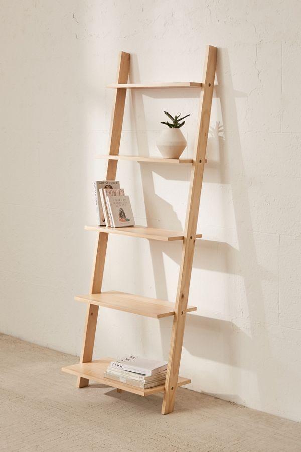Slide View 3 Leaning Bookshelf
