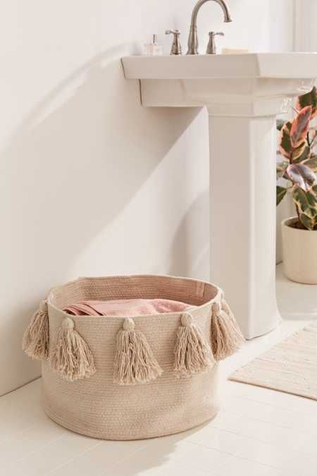 Lorena Canals Tassel Laundry Basket